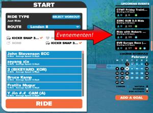 Aanmelden voor race of evenement?